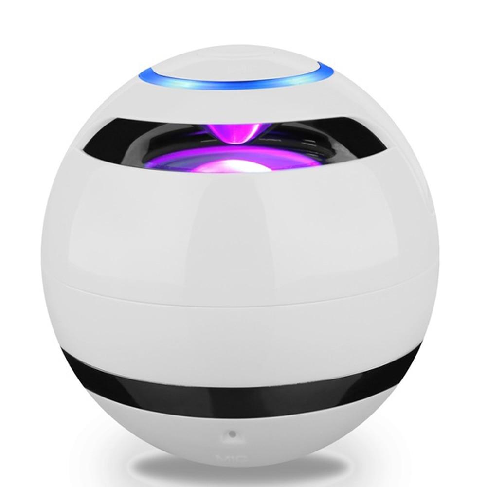 Mini Bluetooth Wireless Super Bass Stereo Speaker Round Ball