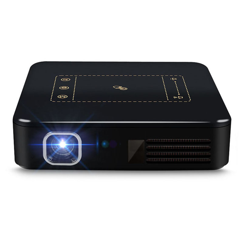 Android 7.1 Pocket Mini Projector D13 4K Smart TouchPad Pico DLP Portable LED WIFI Bluetooth 8000mAh Battery Home TheaterAndroid 7.1 Pocket Mini Projector D13 4K Smart TouchPad Pico DLP Portable LED WIFI Bluetooth 8000mAh Battery Home Theater