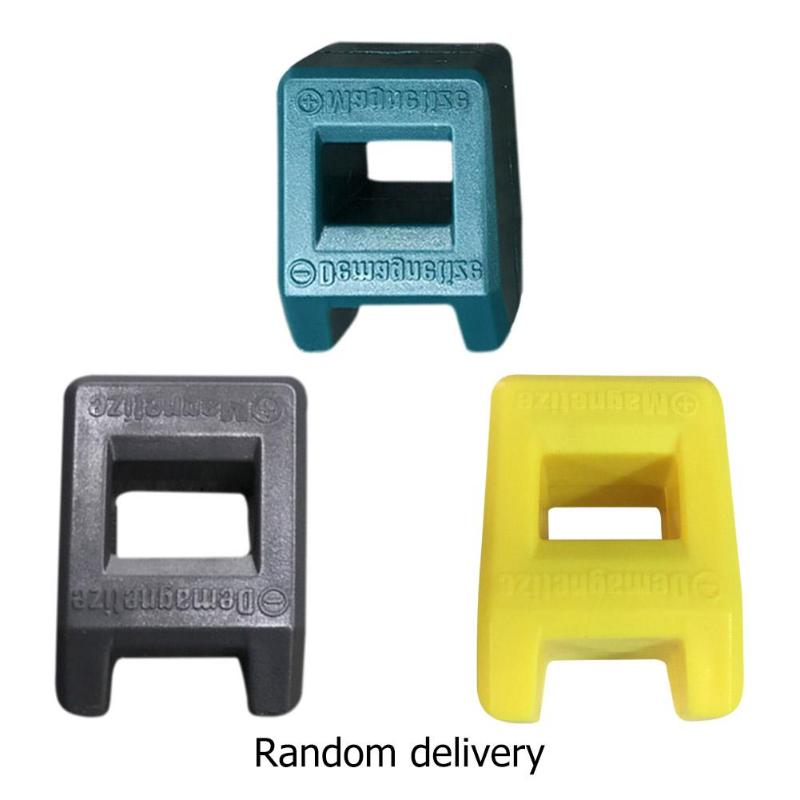 Watch Tools 2 In 1 Magnetizer Demagnetizer Plastic Watch Demagnetizer Screwdriver Bench Bits Gadget Tool Watch Repair Tool