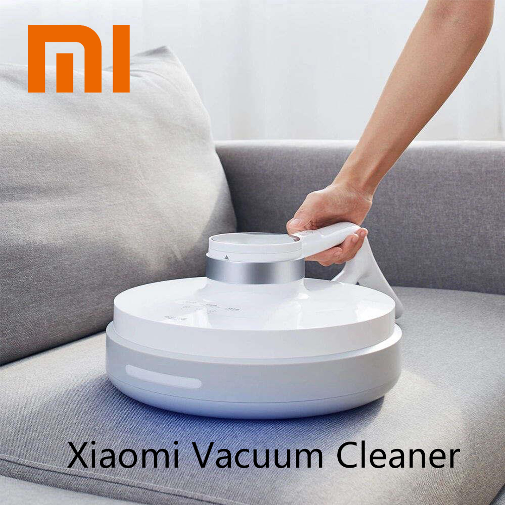 Xiaomi Deerma Wireless Handheld Vacuum Cleaner Light Heat Mites Controller Sterilization Six fold Mite killing 2500mAh