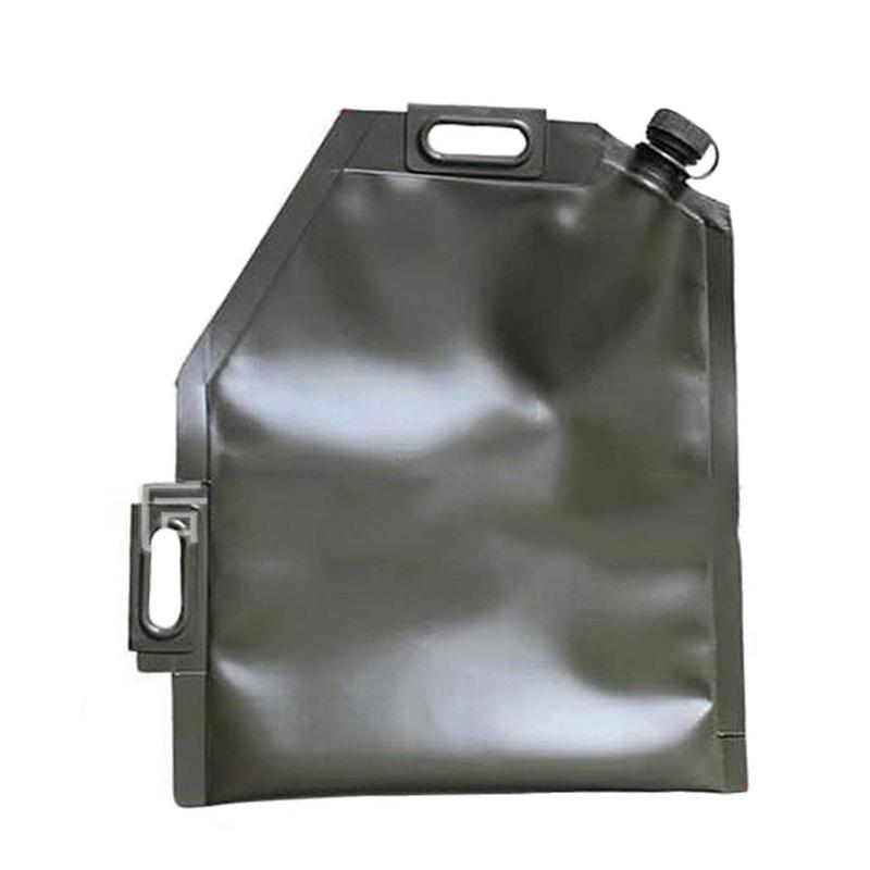 10L 20L Litre Portable voiture moto sac à huile souple vessie tout-terrain essence canettes de rechange huile de stockage réservoir de carburant essence seau