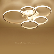 modern led ceiling lights lamps for living room Bed light White/Brown plafonnier Ceiling Lamp