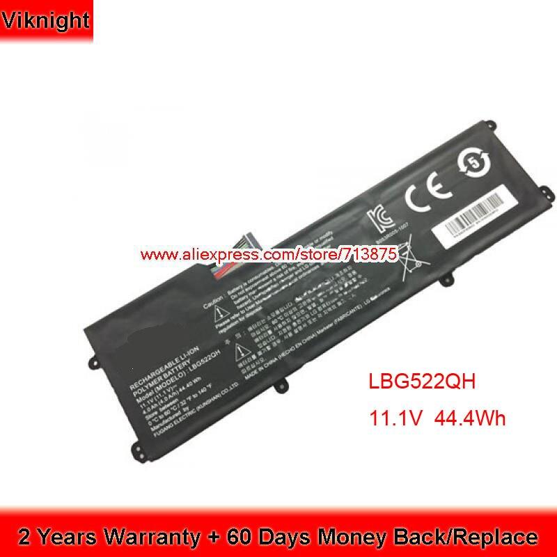 Genuine 11.1V 4000mAh LBG522QH Battery for LG Z360 Z360-GH60K Laptop