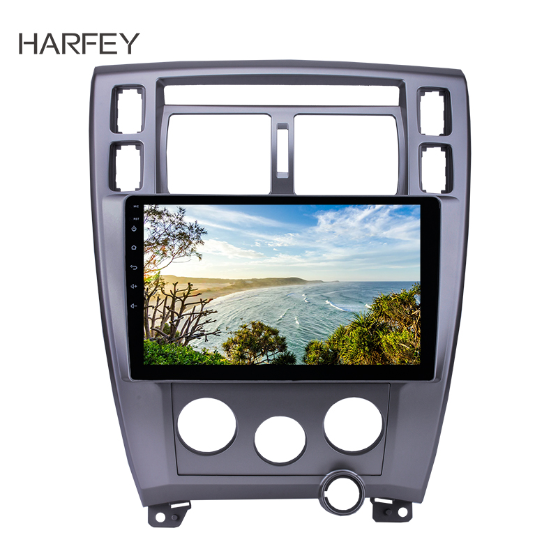 Harfey Android 8 1 Radio 10 1 For 2006 2013 Hyundai Tucson LHD GPS Navigation Car