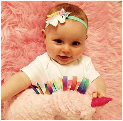 6c2bc2daf placeholder 3pcs Baby Girl Headbands Newborn Bows Hair Accessories Infant  Unicorn Headband Toddler Bow Cartoon Headwrap Kids