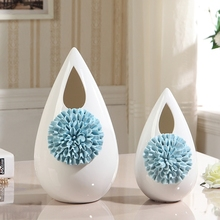 European Modern Simple Living Room Tv Cabinet Entrance Porcelain Size Ornaments Creative Fashion Vase Home Decorations