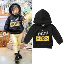 1-6Y Toddler Kids Baby Boys Girl Hoodie Hooded Top Pullover Costume Outfit Clothes(China)