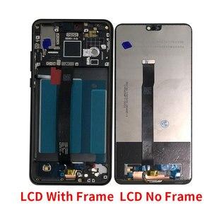 "Image 5 - Original Frame M&Sen 5.8"" For Huawei P20 AL00 LCD Display Screen Touch Panel Digitizer With Fingerprint P20 EML L29 L22 L09 AL00"