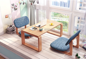 High Quality Strong Japanese Chair Meditation Chair Tatami Floor Chair Seating with Back Support For Living Room Furniture