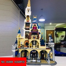 4160 шт. строительный блок замок Высокое качество RIZ-ZOAWD орфографическая вставка Сборка игрушки 16008 2018 Новинка