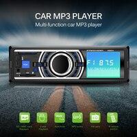1 Din Bluetooth Car Radio Stereo Player FM Radio USB SD MMC AUX Audio 4X60W Autoradio MP3 Player Auto Electronics