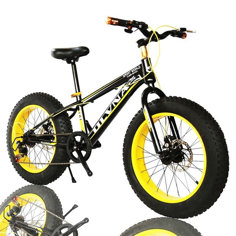 Tyre Snow Land Vehicle Sandy Beach Variable Speed Land Rover A Mountain Country Vehicle New Pattern Double Disc Brake Bicycle