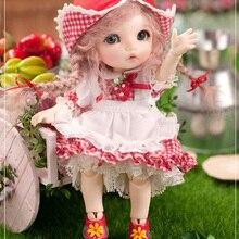 fairyland pukifee ante  toy  soom doll bjd sd msd 1/4 luts volks dod ai  include eyes [wamami] 140 pink lace dress clothes 1 4 msd aod dod bjd dollfie