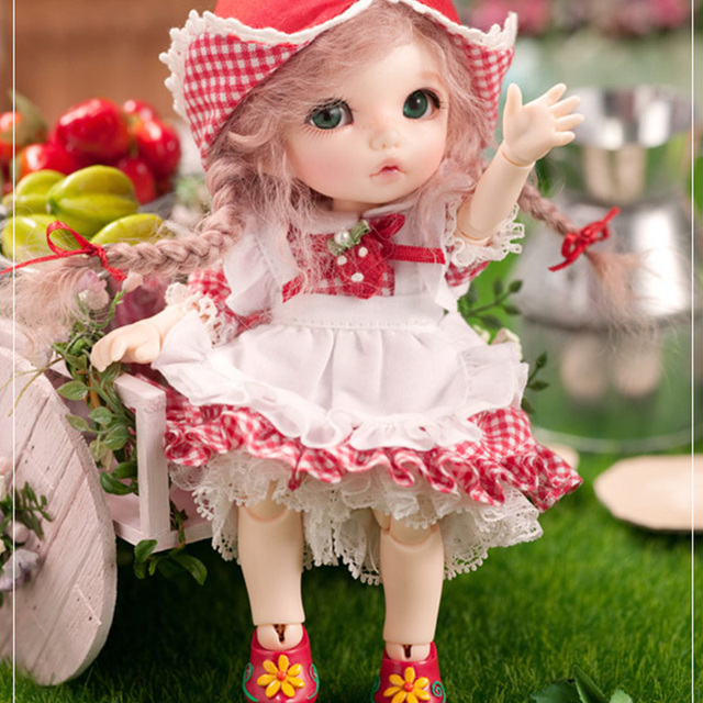 Free Shipping Pukifee Ante Doll BJD 1/8 Cute Fashion Resin Natural Pose High Quality Toy for Children Full Set Option Fairyland