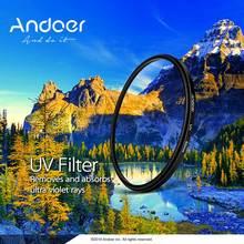 Andoer DSLR камера 49 мм УФ ультрафиолетовый фильтр для Canon Nikon DSLR объектив УФ-фильтр протектор