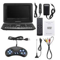 13.9'' Mini Portable Car Home Multimedia DVD Player Mini TV Stereo Auto Radio Player TF USB FM For Nissan For Volkswagen