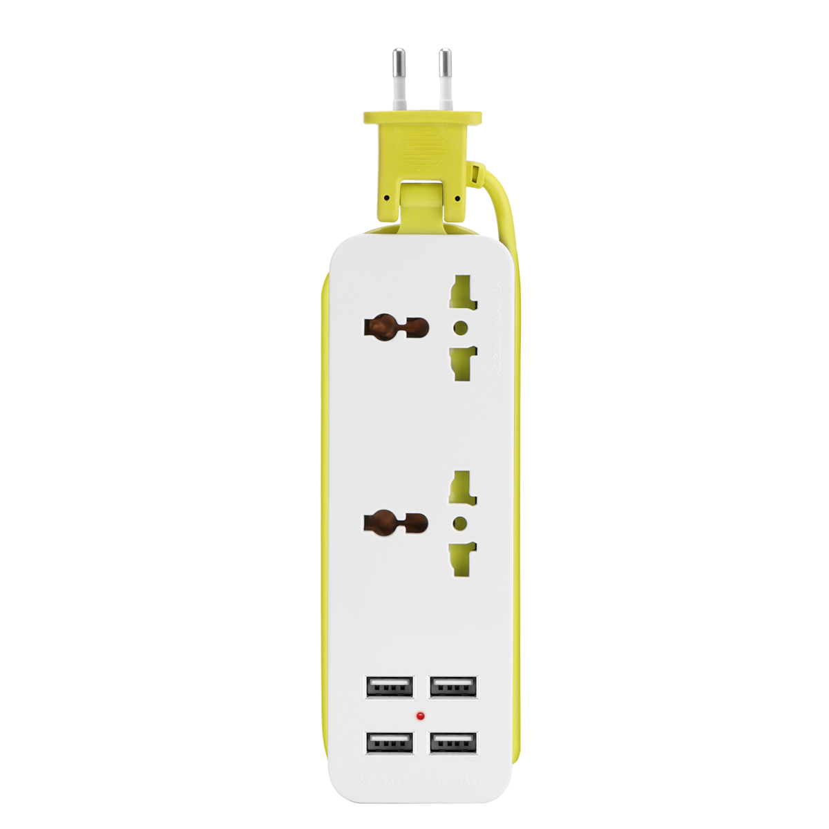 The Grid 9 Outlet Power Strip Charging Station 4 Rapid Charge USB Ports Surge