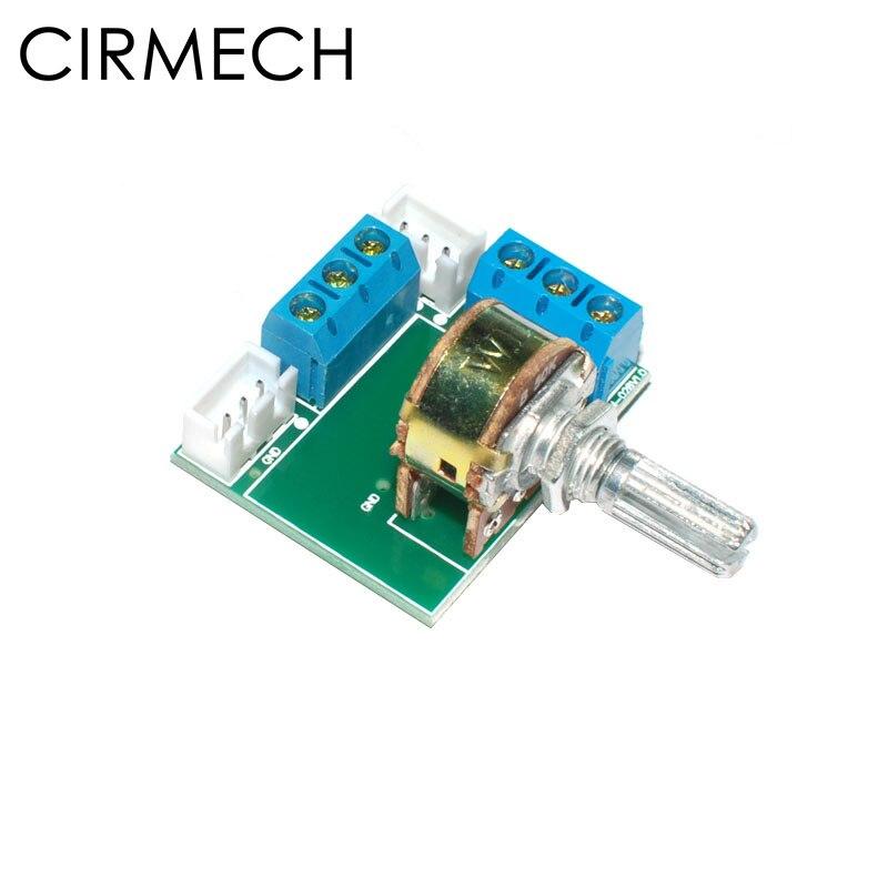 Cirmech Potentiometer Adaptor Stereo Volume Adjustor