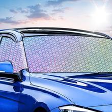 Солнцезащитный козырек на лобовое стекло, солнцезащитный козырек, без проблем, автомобильные солнцезащитные козырьки, сохраняющие прохладу вашего автомобиля, УФ-отражатель от солнца, Солнцезащитный блок