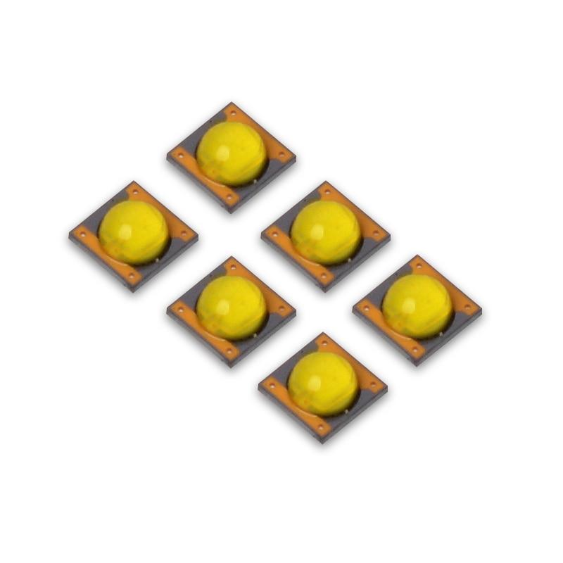 Светодиодный чип 3W5W С Золотым дном, 20 шт./лот, 3535, 3 в, светодиодный чип CREE с белым светом для печатной платы 14 мм, 16 мм, 20 мм, светоизлучающий диод