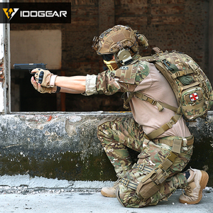 Image 4 - IDOGEAR Tactical G3 Pants with Knee Pads Airsoft Trousers MultiCam CP gen3 Hunting Camouflage black 3201