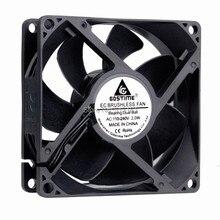 2 miếng Gdstime 80mm AC 110 V 115 V 120 V 220 V 240 V Fan 80mm x 25mm 8 cm EC Không Chổi Than Làm Mát Cooler Fan Hâm Mộ Trục Quạt