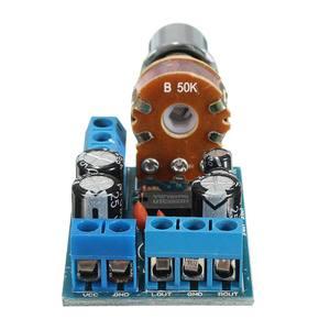 Image 2 - Leory TDA2822M 1W * 2 Dual Channel Audio Versterker Stereo Module Board Volumeregeling Dc 1.8 12V operationele Versterker Chips