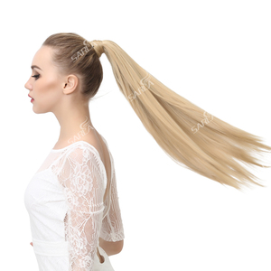 Ponytail Hair Extensions Ponytail Wig Pony Tail Fake Flase Hairpiece Hair Tail Hair(China)