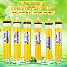 50/75/100/125/300G мембраны RO Замена для фильтр для воды очиститель лечения обратного осмоса Системы дома Кухня