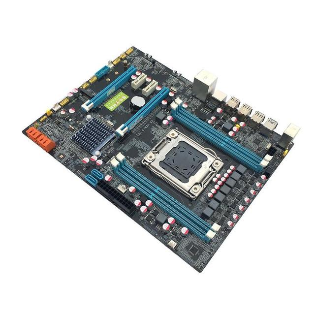 X79 motherboard golden LGA2011 ATX USB3.0 SATA3 PCI-E NVME M.2 SSD support 4xDRR3 DIMM REG ECC memory/Xeon E5 processor