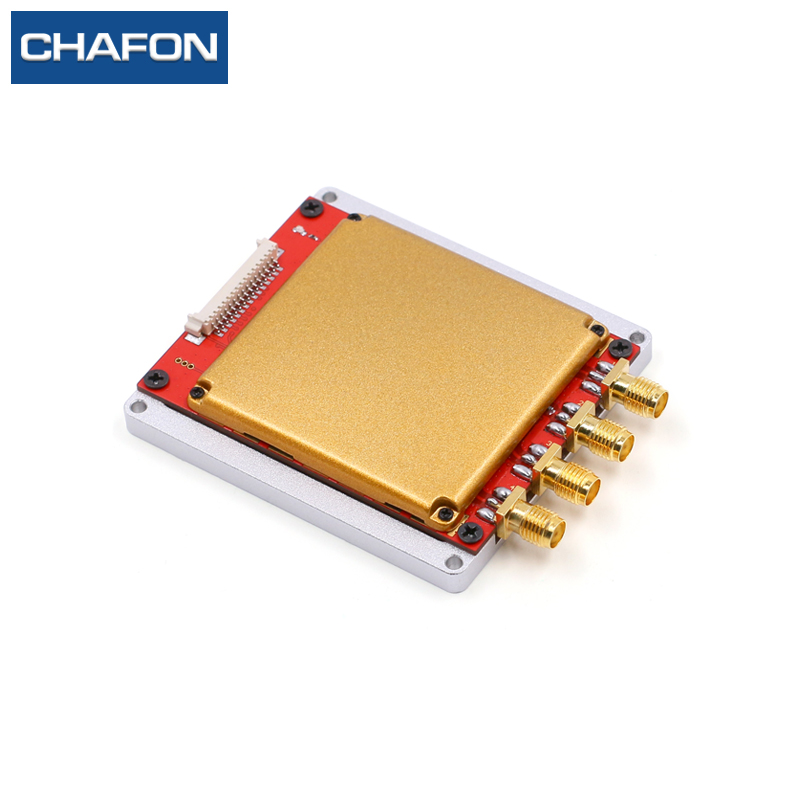 865MHz 15M impinj r2000 rfid module 4 antenna ports free SDK for logistics management and sports race timing system
