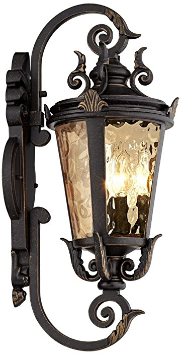 Us 138 0 Hot Casa Mille High Bronze Outdoor Wall Light In Lamps From Lights Lighting On Aliexpress