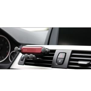 Image 3 - הכבידה אוניברסלי סוגר רכב טלפון מחזיק אוויר Vent הר Stand קליפ עבור Smartphone במכונית מחזיק עבור Iphone X Xs מקסימום סמסון G
