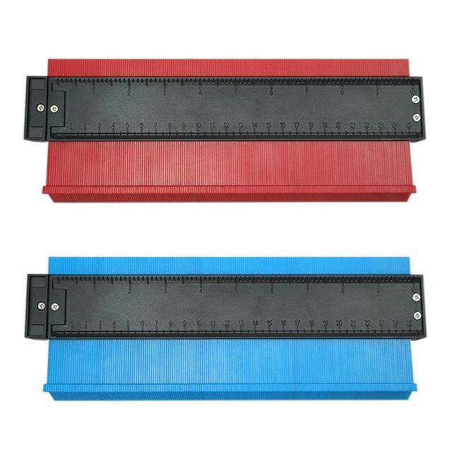 Plastic Profiel Kopie Gauge Onregelmatige Shaper Contour Gauge Duplicator Hout Markering Tool Betegelen Laminaat Tegels Algemene Hulpmiddelen