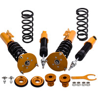 Front Rear Coilovers Kits For Volvo S70 98 00 Adj. Damper Shock Absorbers Strut Complete Coil Spring Overs Set
