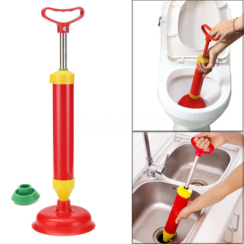 powerful bathroom blocked toilet sink multi drain buster plunger cleaners with suckers