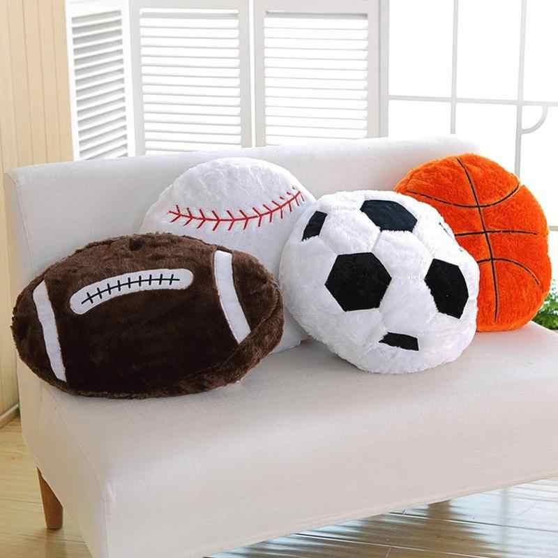 T Play Plush Basketball Pillows Fluffy Stuffed Basketball Plush Soft Durable for