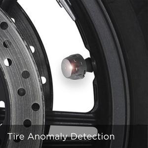 Image 5 - 新しいモーターユニバーサルワイヤレスオートバイ Tpms タイヤ空気圧監視時刻表示 2 センサー外部謎 TP777