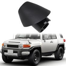 Moldura base do grommet do ornamento-para 07-14 acessórios do caminhão do cruzador de toyota fj-peças de substituição do mastro do rádio da montagem 86392-35031-