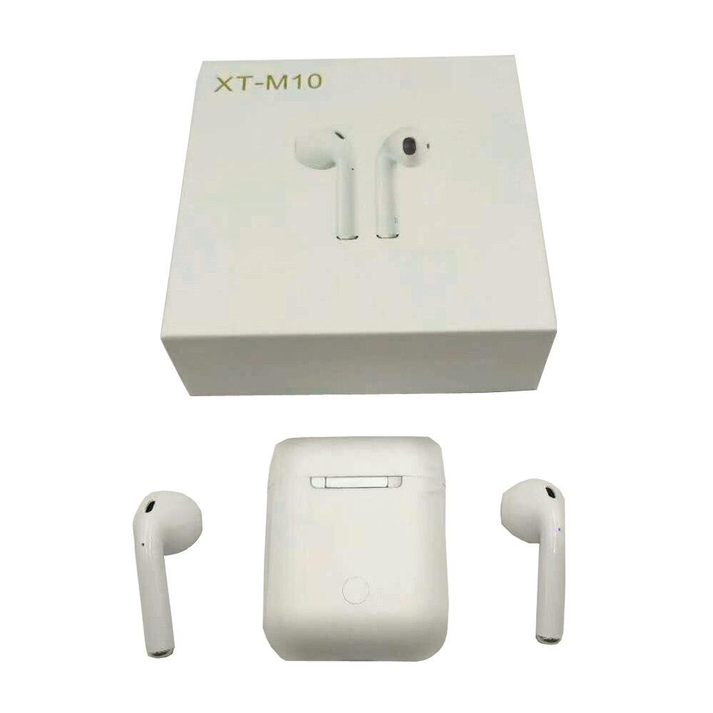 M10 TWS Bluetooth 5.0 écouteurs, oreillettes sans fil Sport Musique Tactile Contrôle Casques mise à niveau par i10 Pour tous les téléphone portable téléphone - 2