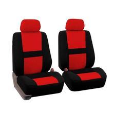 4 pz/set Universale Quattro Stagioni Seggiolino Auto Copertura di Sede Dell'automobile Anteriore Protector Rosso Blu Grigio Beige Accessori Interni