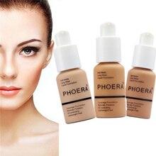 Makeup Concealer Liquid Moisturizer Face Eye High Definition Foundation Cream цена