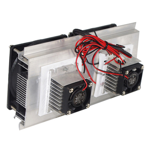 Image 3 - 200 x 118 x 95mm 120W Thermoelectric Peltier Refrigeration Semiconductor Cooling System Kit Double Fan