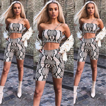 09d6f414316 Womens Autumn Casual Shinny Tube Top Shorts Bodycon Two Piece Set Outfits  Short Sport Jumpsuit Sets