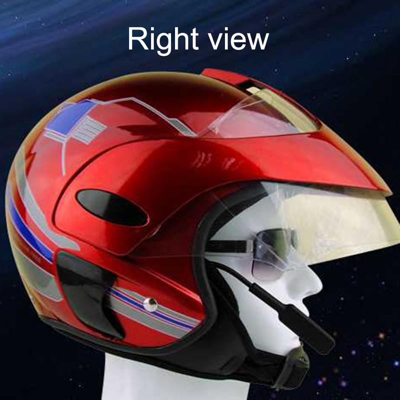 Motorcycle Helmet Bluetooth Headset Helmet Movement Factory Direct Bluetooth 4.1 Bluetooth Stereo USB Charging Interface