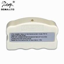 Tanque de Manutenção Resetter Chip Para EPSON WorkForce T6716 WF C5210 WF C5790 WF C5710 WF M5299 WF M5799 ET 8700 Resíduos Do Tanque de Tinta