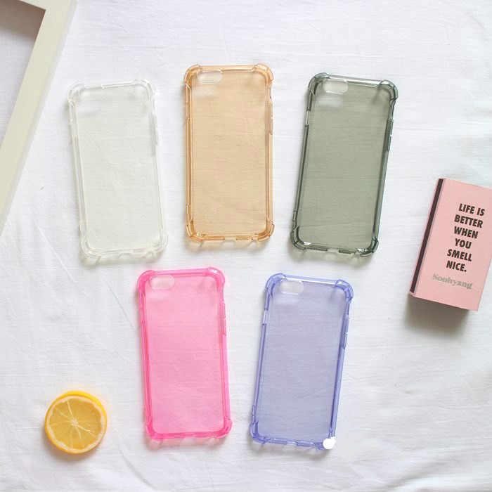 Zachte Siliconen Transparant Gevallen Voor iPhone X XS 6 6S 8 Plus Cover Voor iPhone 11 Pro XS MAX XR 7 Helder Shockproof Ultra Dunne Case