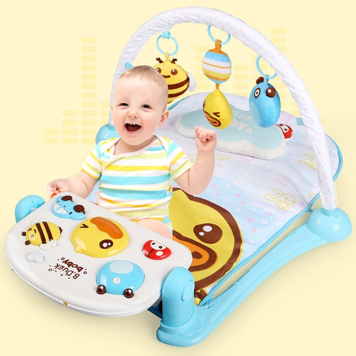 Baby Pedal Music Rack Baby Toddler Toys Play Mat Activity Play Mat Toy Crawling Blanket Floor Carpet Rugs Mat For BabyBaby Pedal Music Rack Baby Toddler Toys Play Mat Activity Play Mat Toy Crawling Blanket Floor Carpet Rugs Mat For Baby