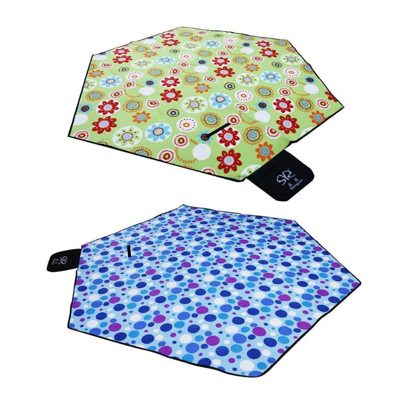 Tapis de pique-nique en plein air imperméable Camping tente tapis étanche à l'humidité couverture de plage
