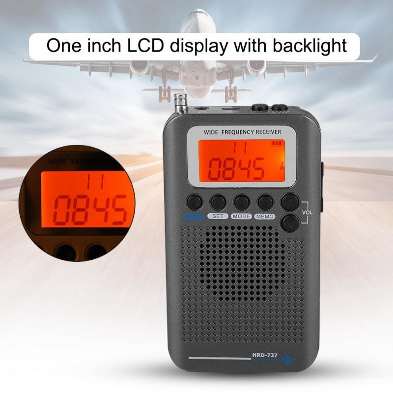 Unterhaltungselektronik Tragbares Audio & Video Streng Flugzeug Band Radio Receiver Vhf Tragbare Full Band Radio Recorder Für Luft/fm/am/cb/vhf ZuverläSsige Leistung
